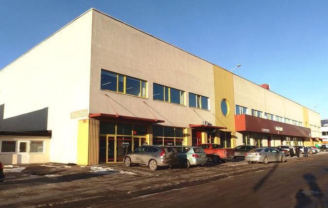 ITW Büroohoonete ehitus